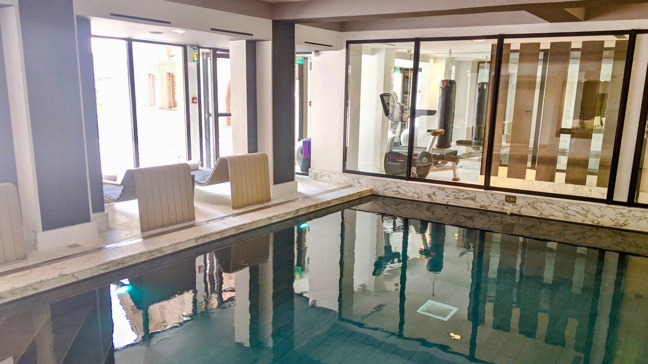 La Sivoliere pool