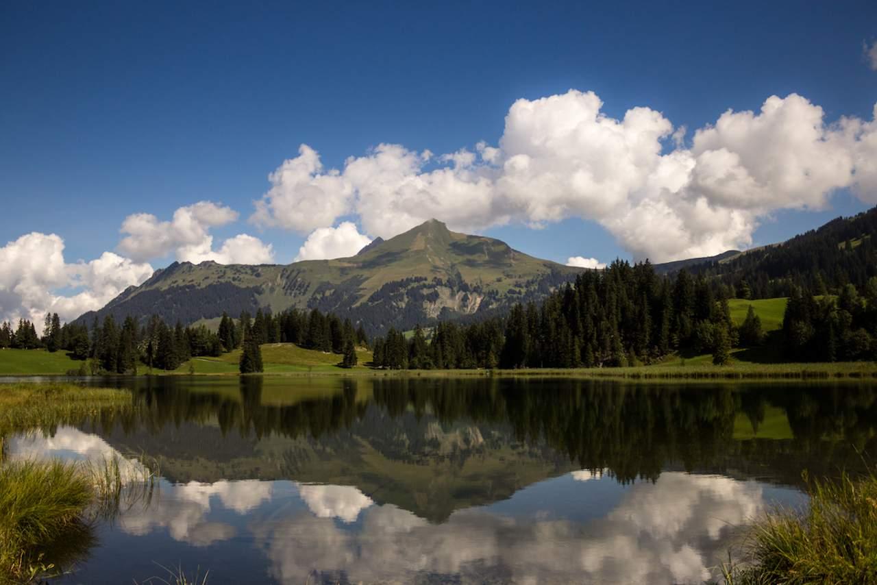 Lake Lauenen near Gstaad