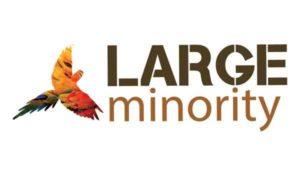 Large Minority logo