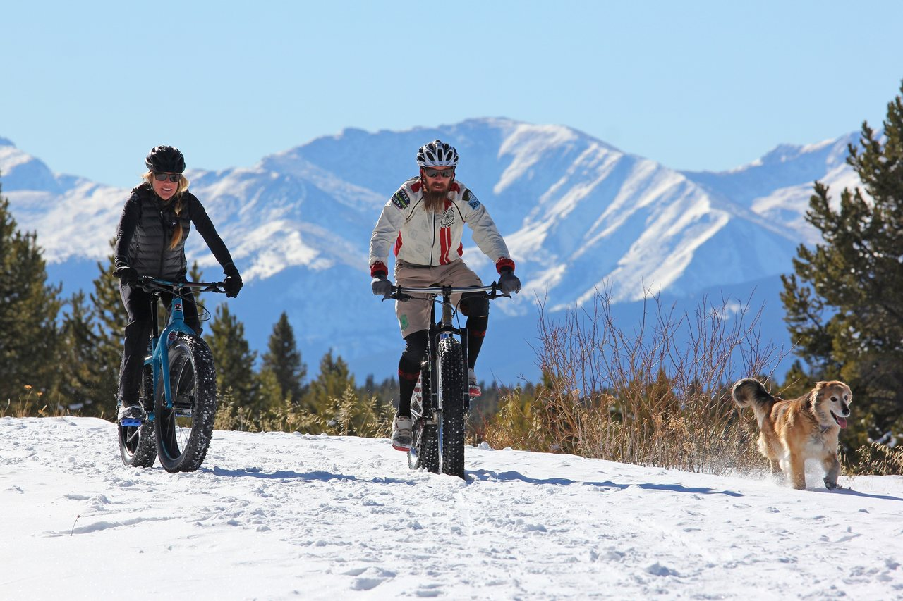 Leadville fat biking