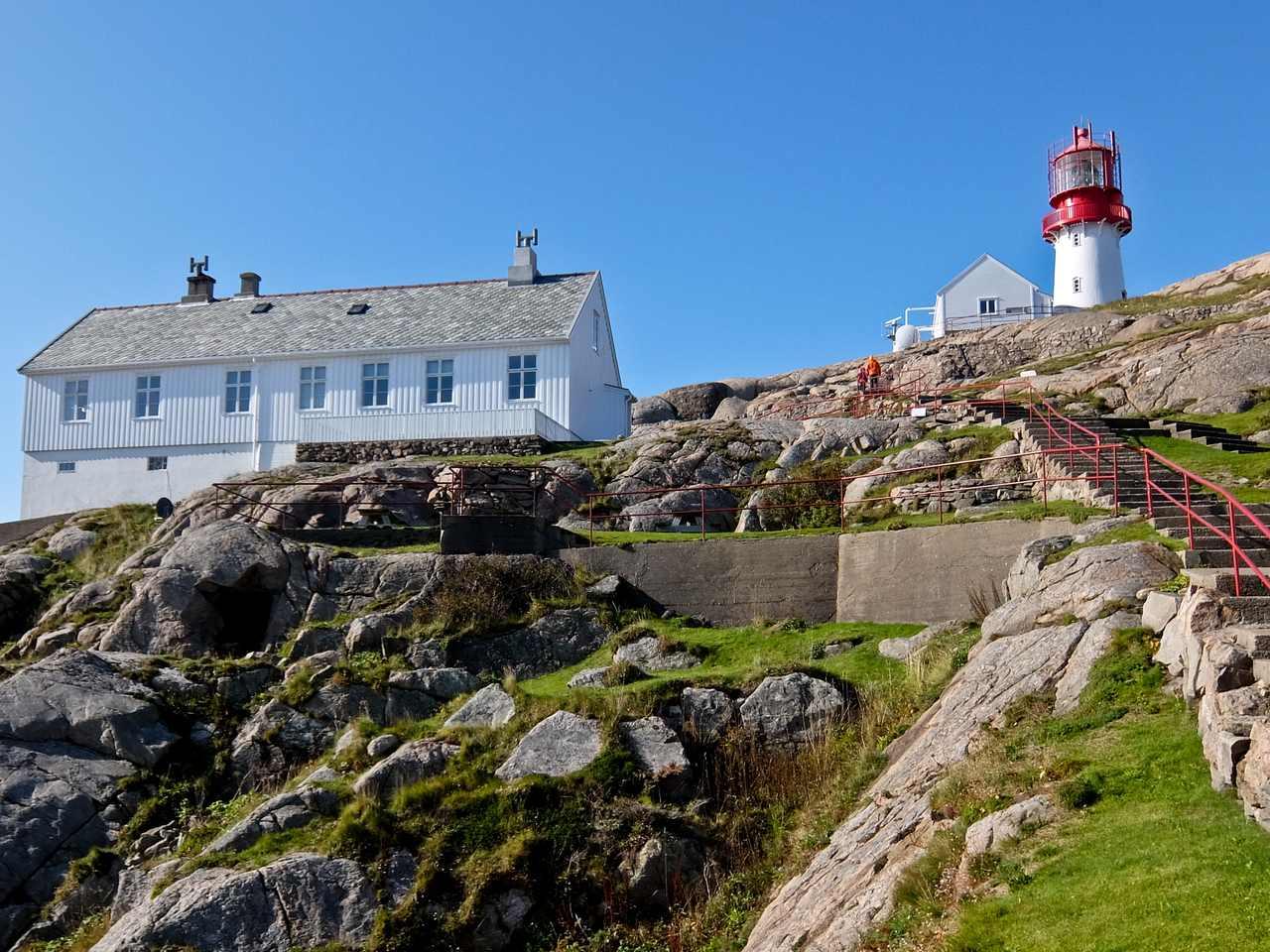 Lindesnes Lighthouse Steps