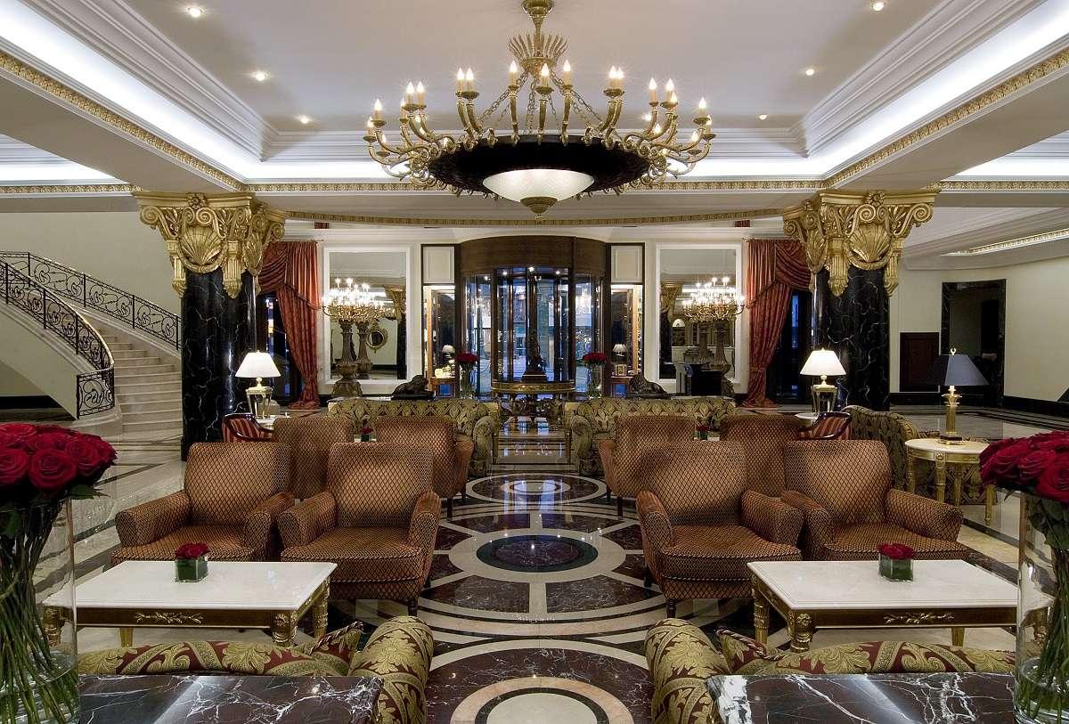 Lobby Lounge at Ritz Carlton, Moscow