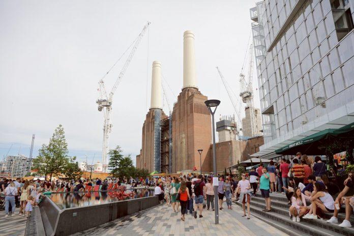 London Seafood Festival Battersea Power Station