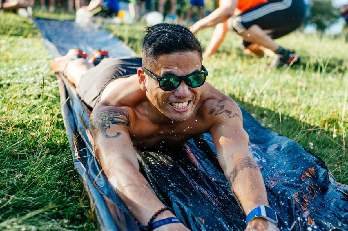 Adventure activities at Love Trails Festival