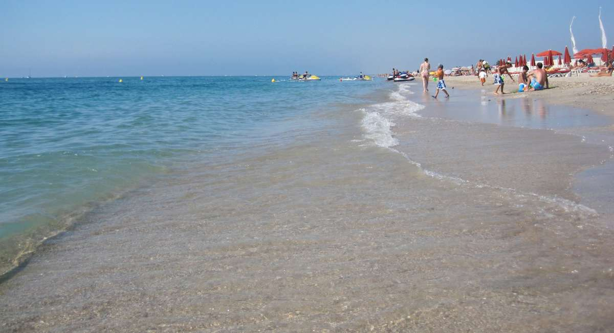 Maguelone beach, Languedoc