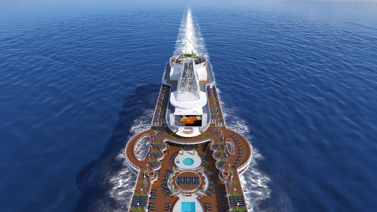 Majestic Princess - pool deck