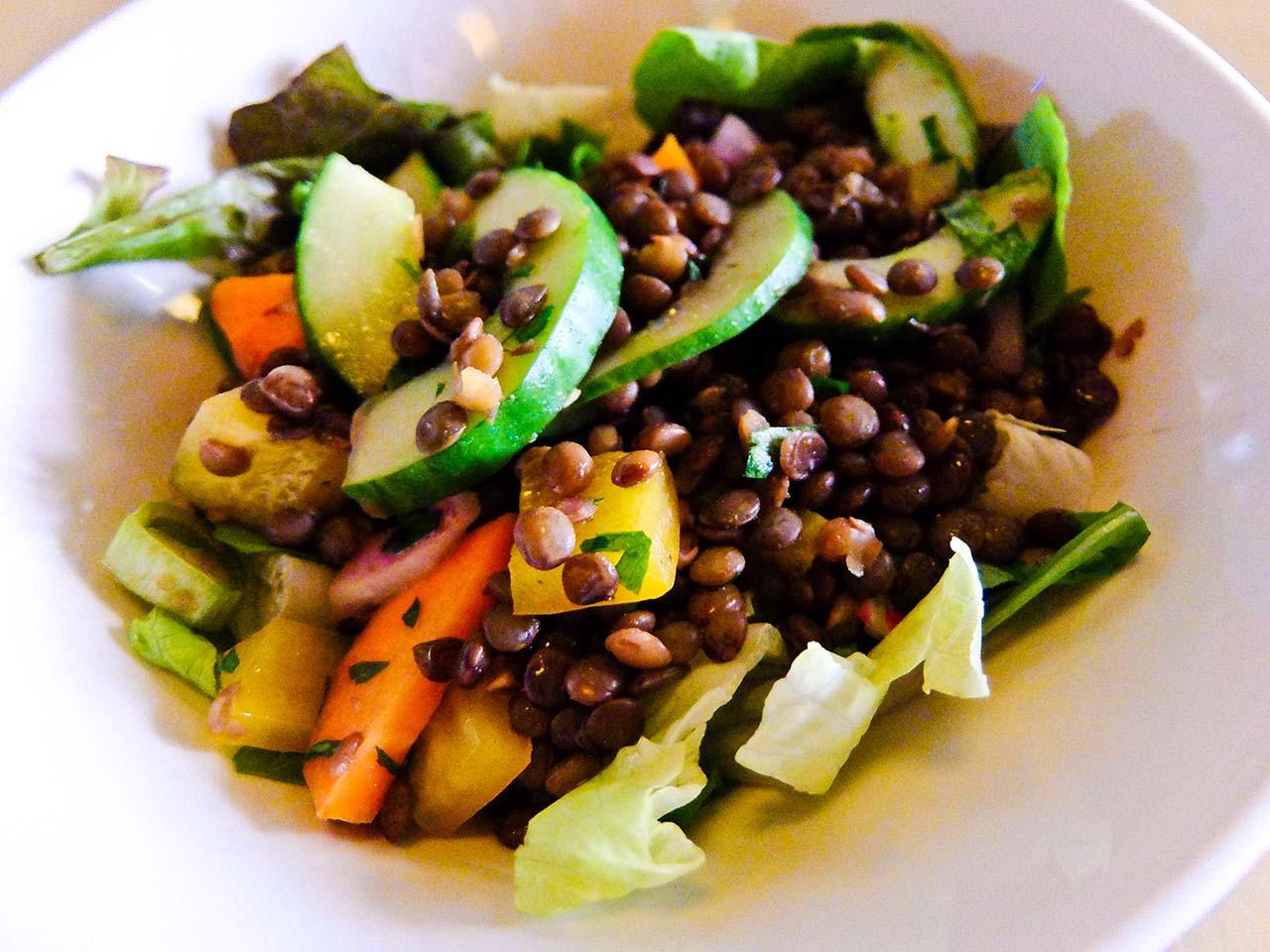 Mallorca Food - Lentil Salad