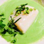 Mallorca Food - Marc Fosh Cod with Aloe Vera