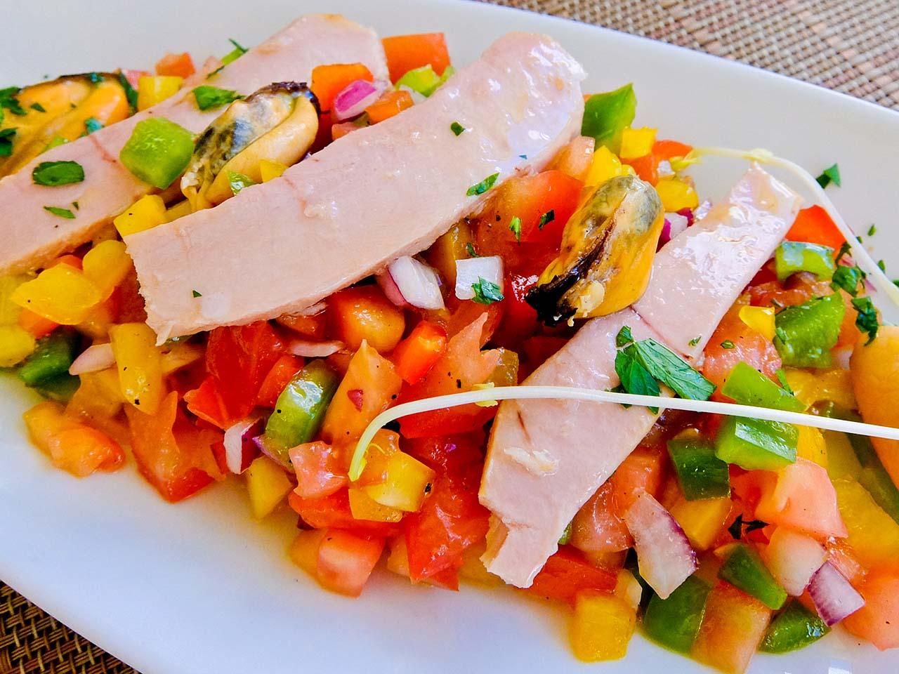 Mallorca Food - Trampó with Seafood