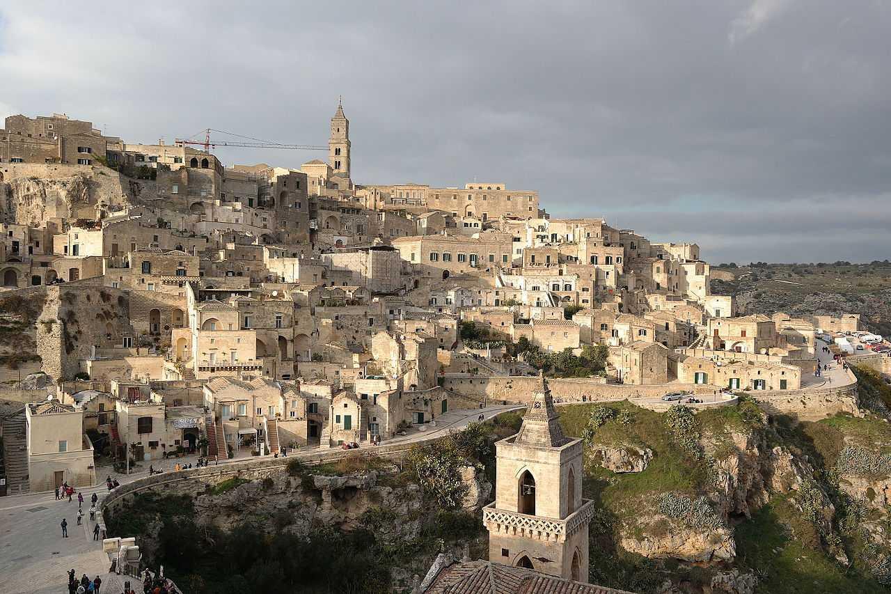 Matera seen from Civita da S. Maria di Idris