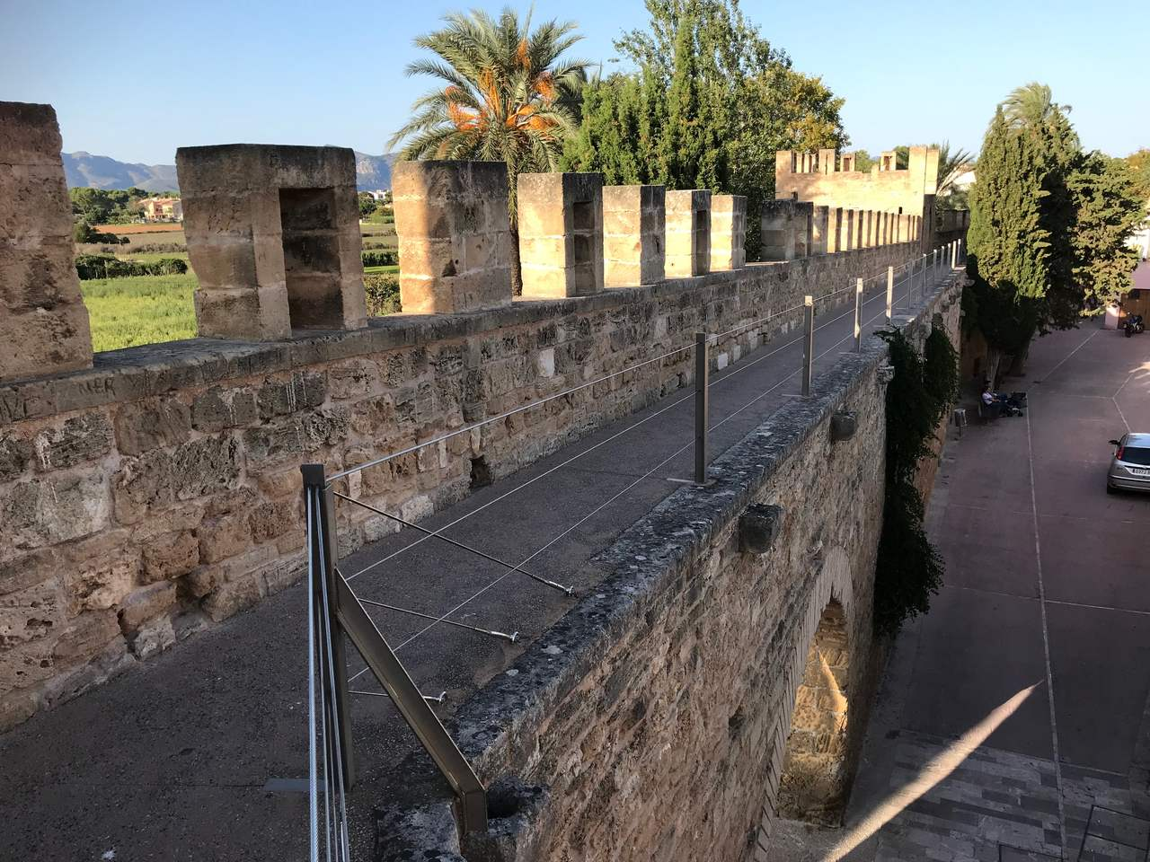 Medieval walls of the Old Town