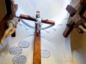 Megeve Calvary Crosses