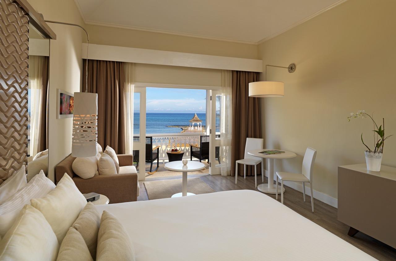 Melia Ocean View room, Jamaica