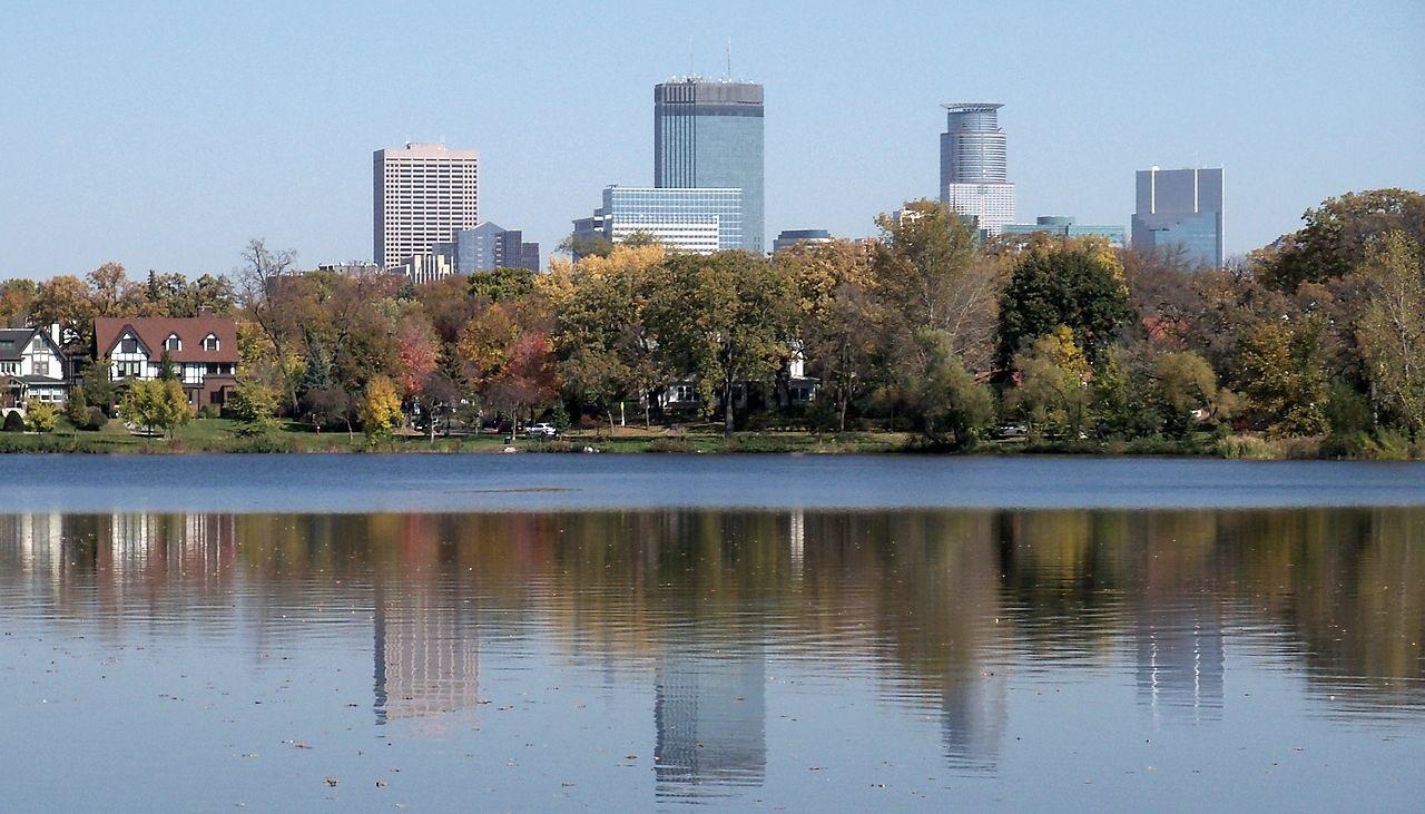 Minneapolis and Lake of the Isles