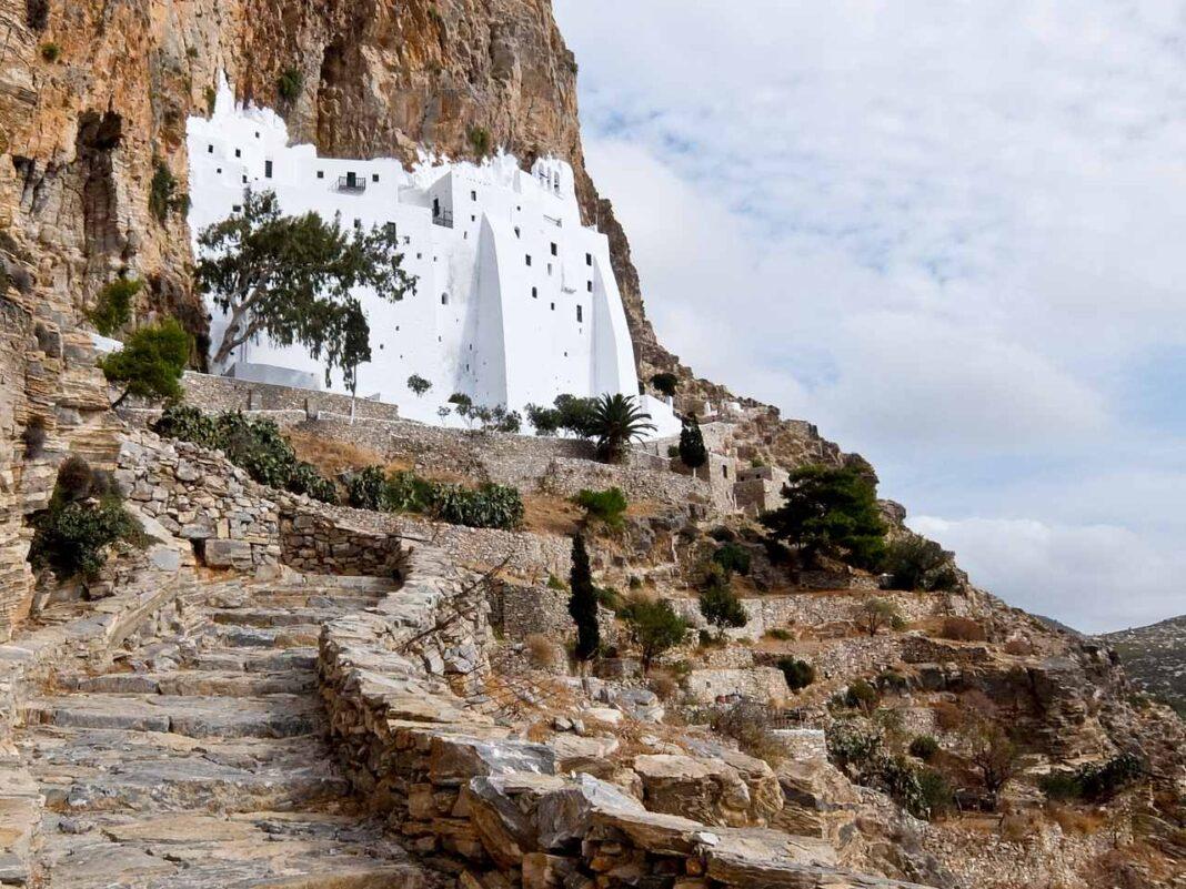 Moni Hozoviotissis monastery Amorgos