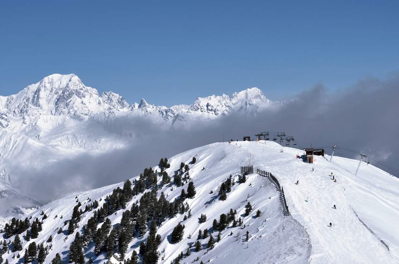 Montchavin panoramic view