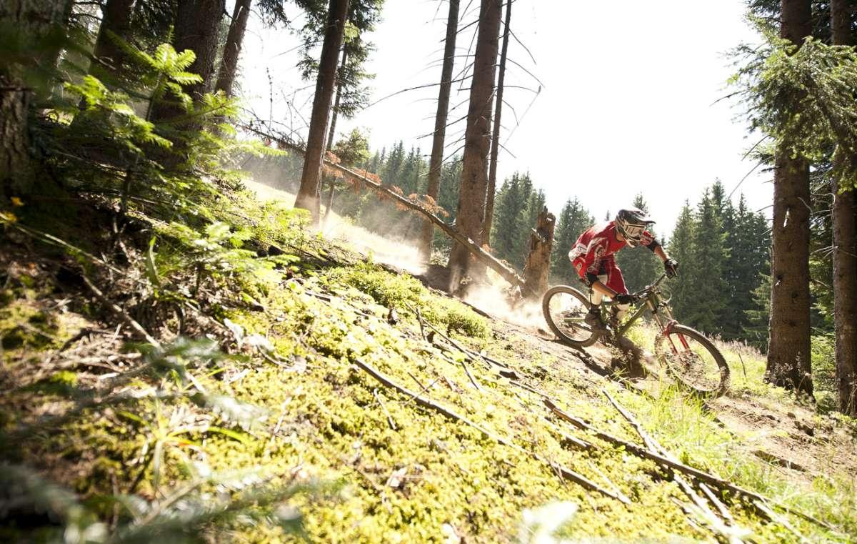 Morzine mountain biking