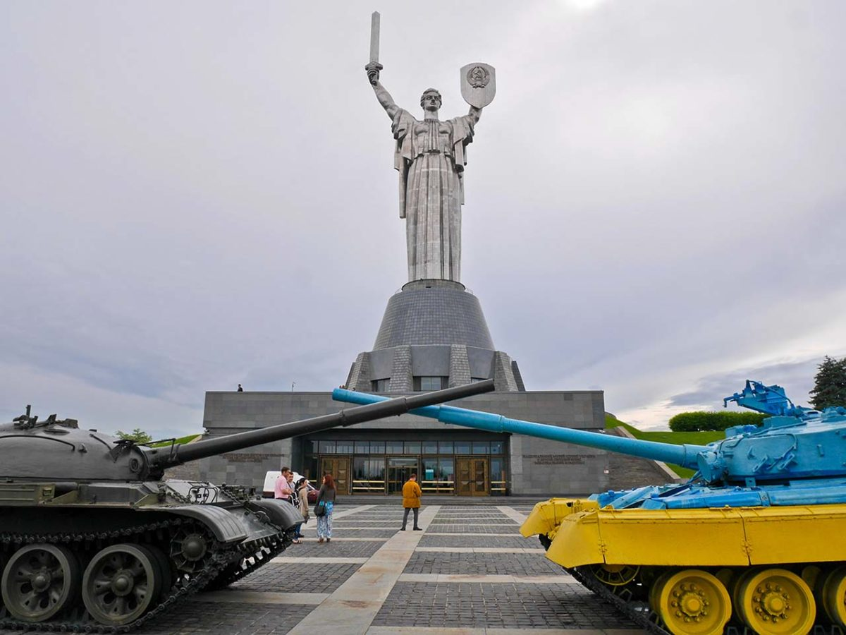 Motherland Monument, Kiev