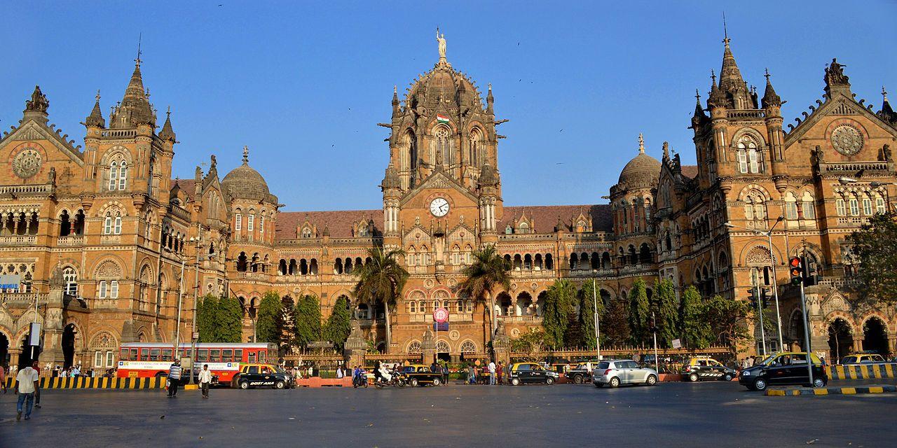 The Chhatrapati Shivaji Terminus in Mumbai