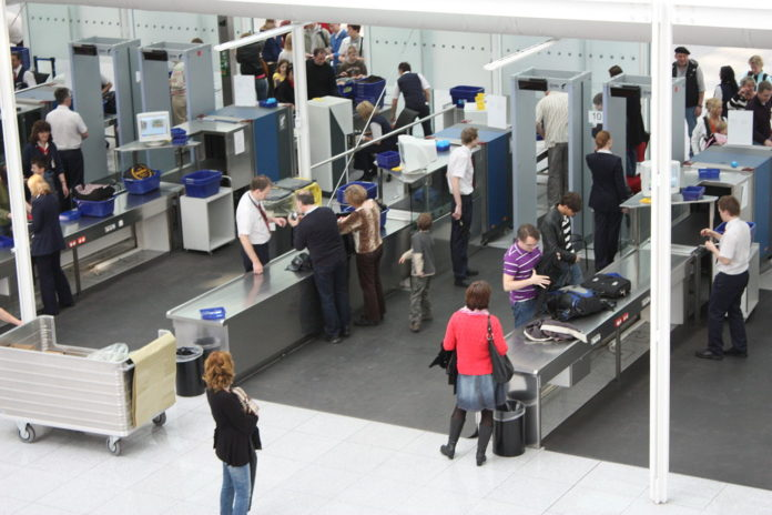Munich Airport security screening