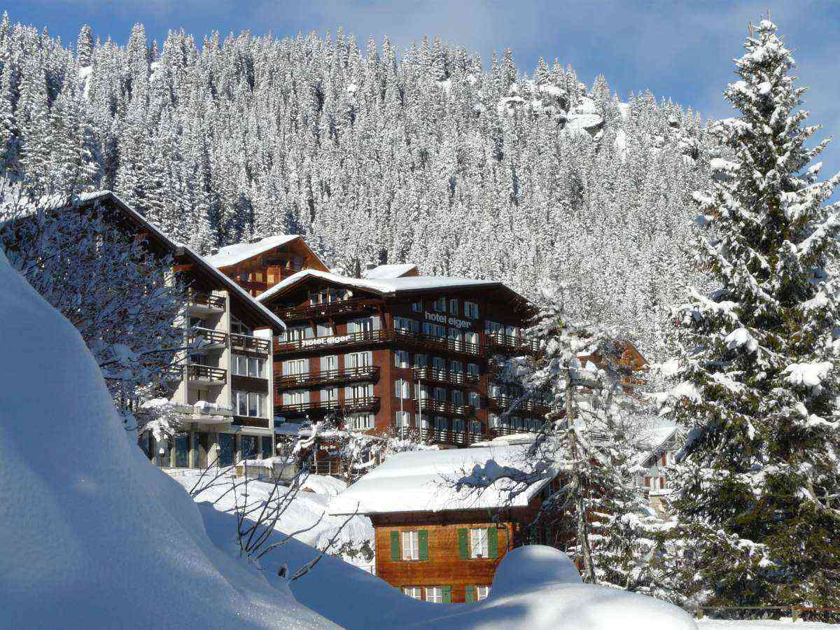 Hotel Eiger is probably the best hotel in the Murren