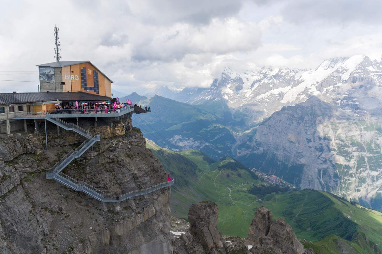 Murren Thrill Walk starting from Birg
