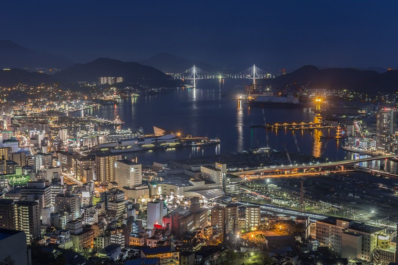 Nagasaki city of lights