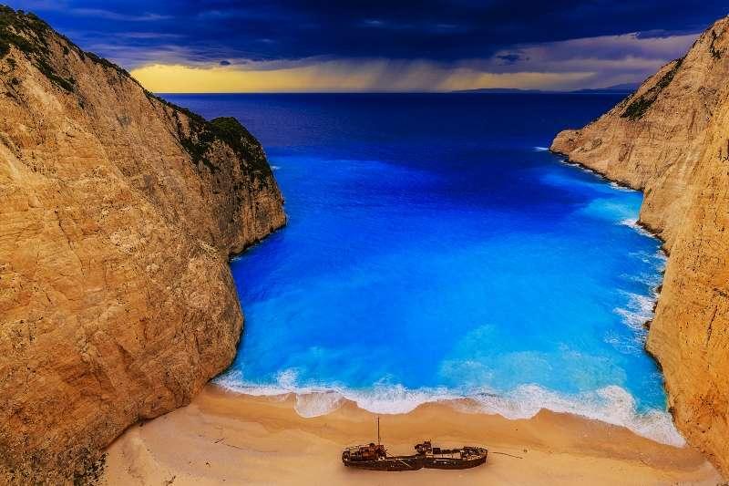 Shipwreck bay, Navagio - Zakynthos, Greece