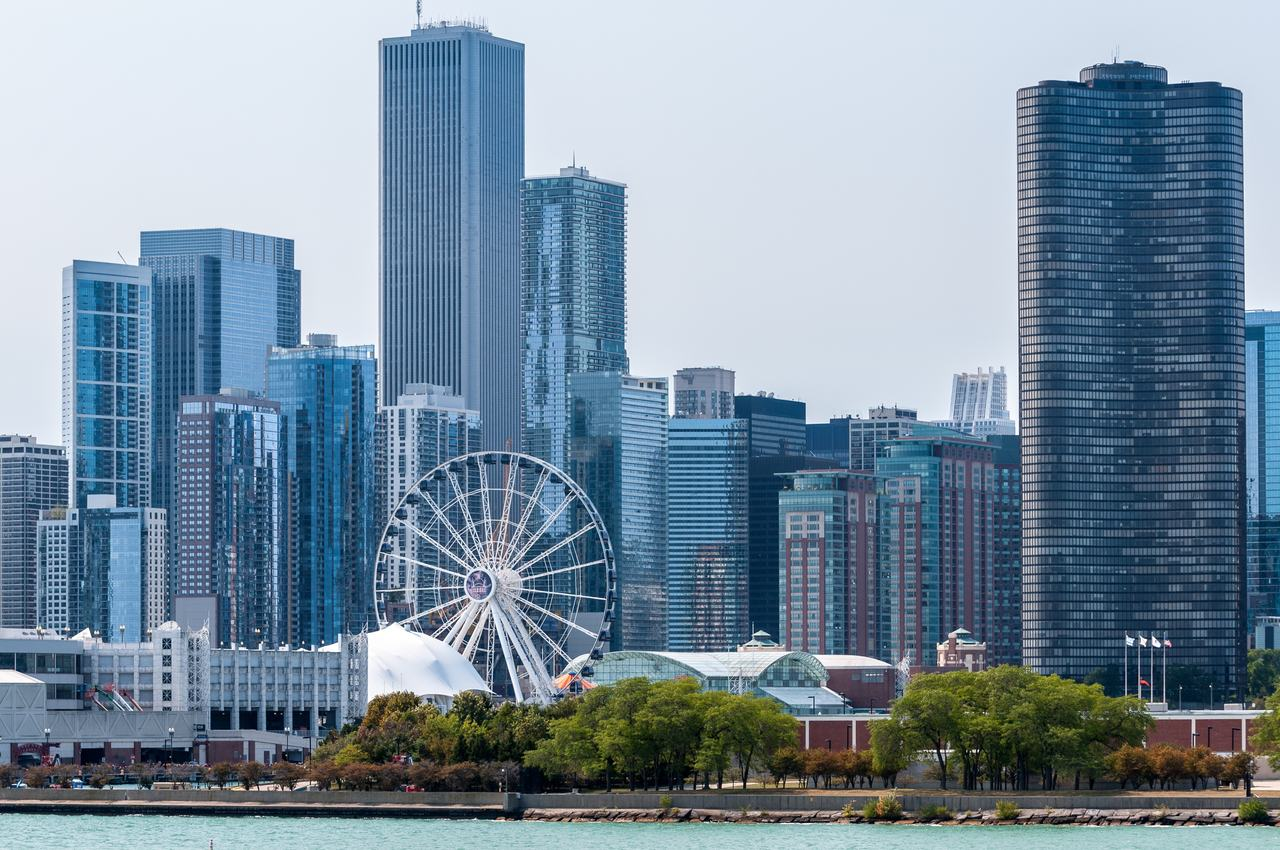The view from Navy Pier
