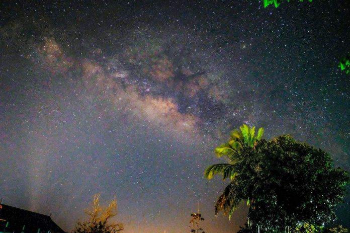 Night Sky in tropics