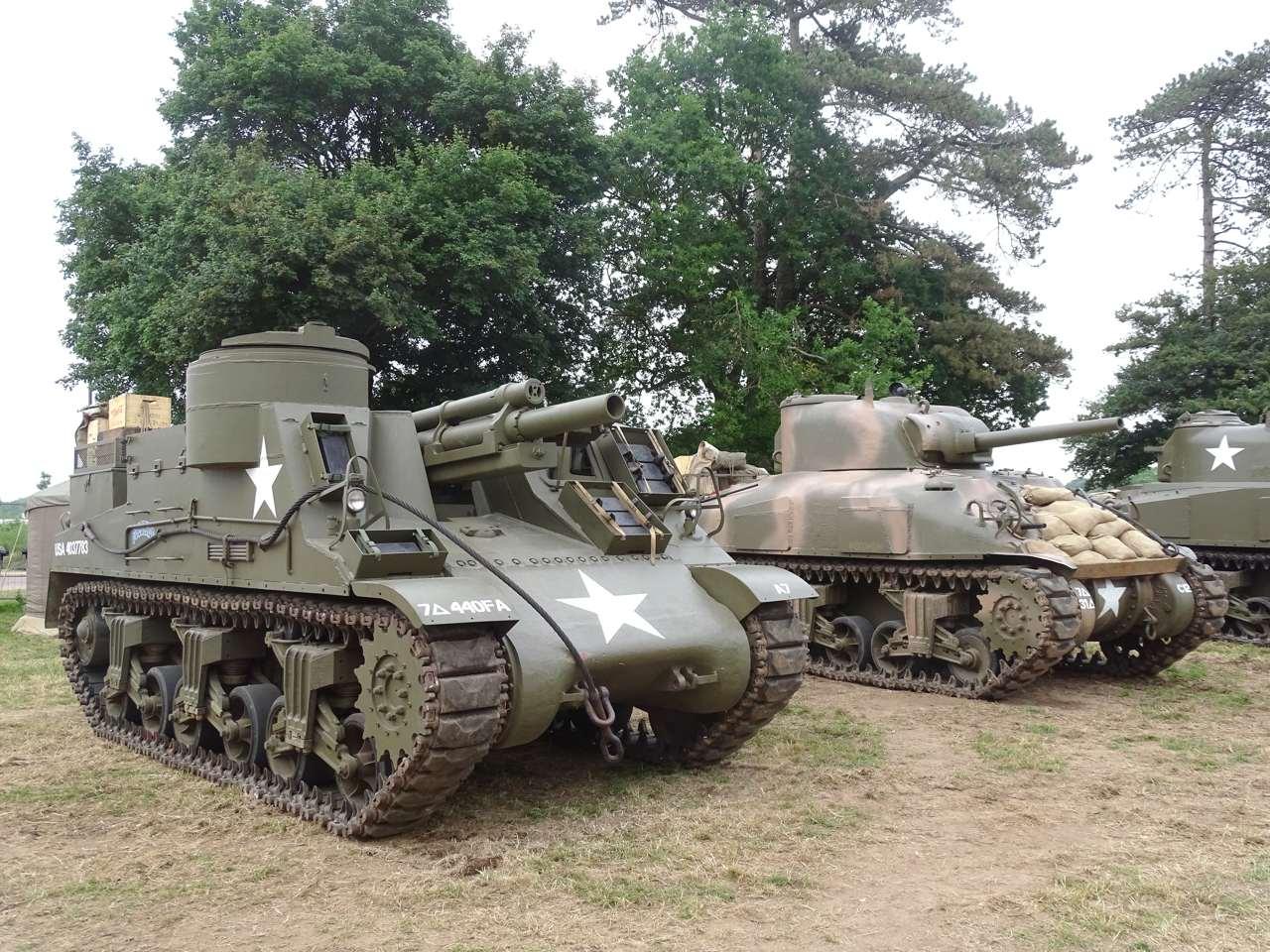Normandy St Mere Eglise tank park