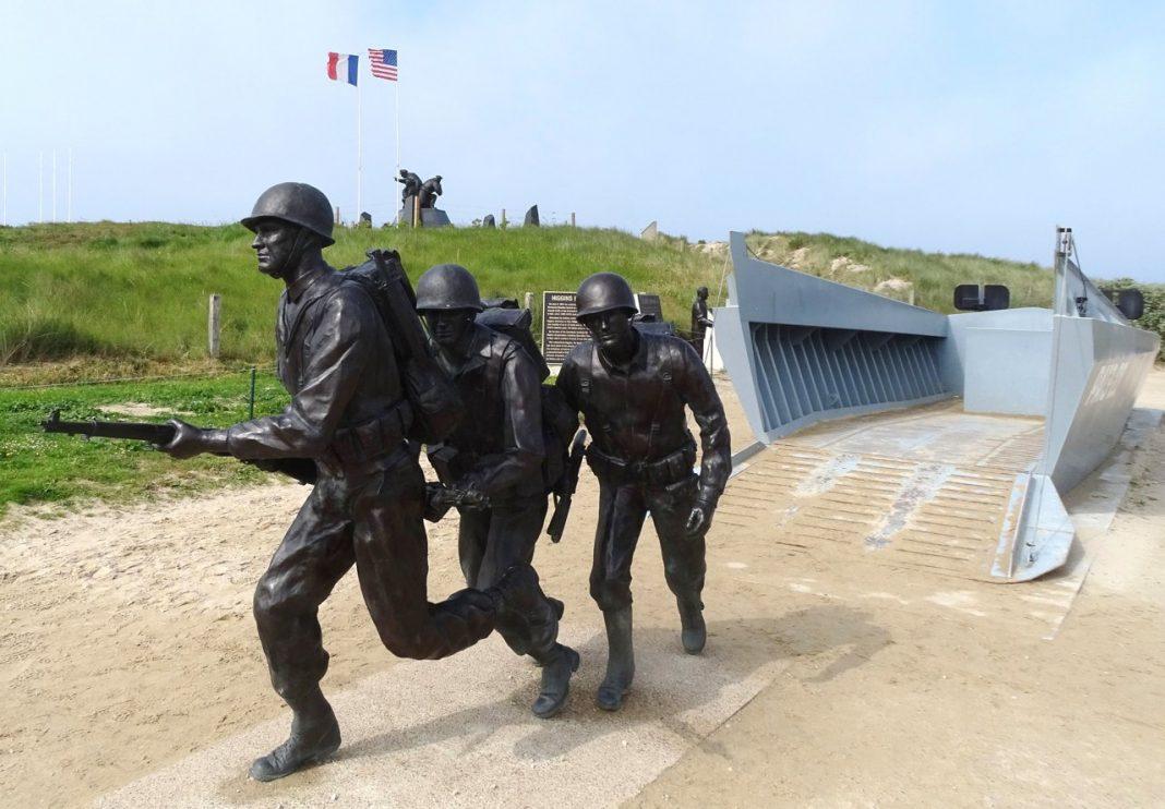 Normandy Utah Beach American memorial