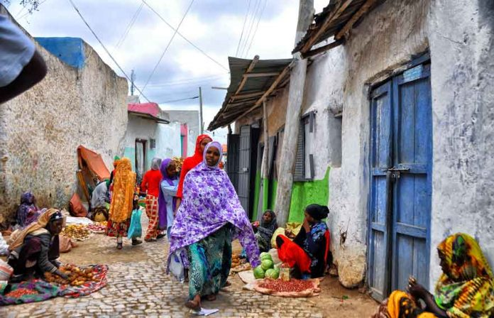 Street Sellers, Harar