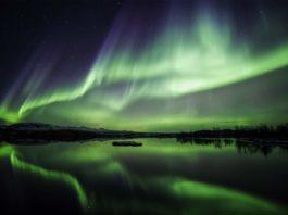 Northern Lights in Thingvellir National Park