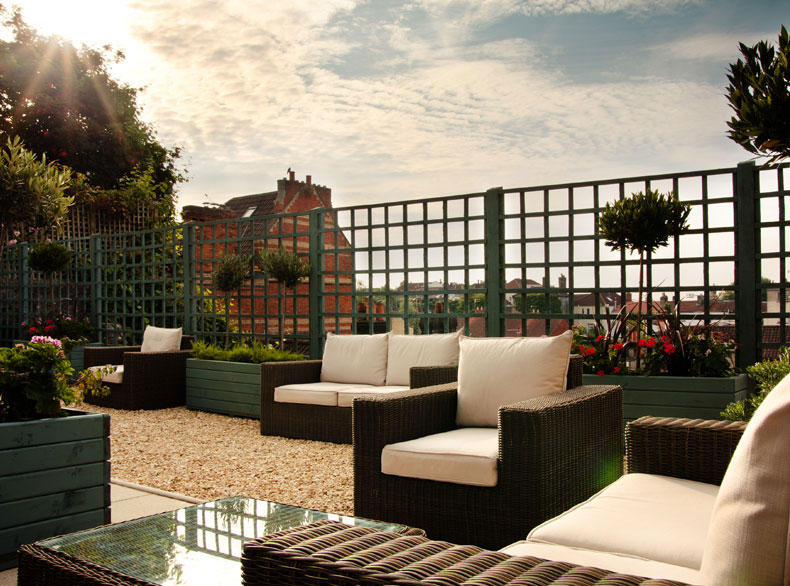 Number 38 Clifton - rooftop terrace