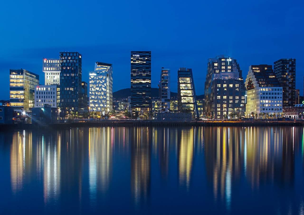 Oslo skyscrapers