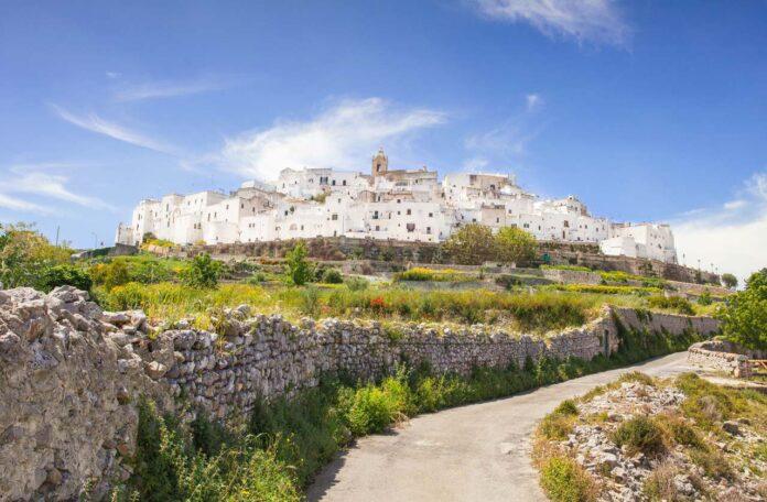 Panoramic view of Ostuni