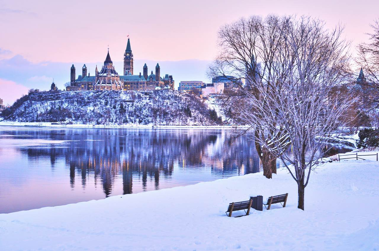 Winter views of Canada