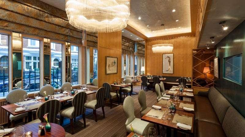 Capital Hotel, London: Outlaw's Restaurant