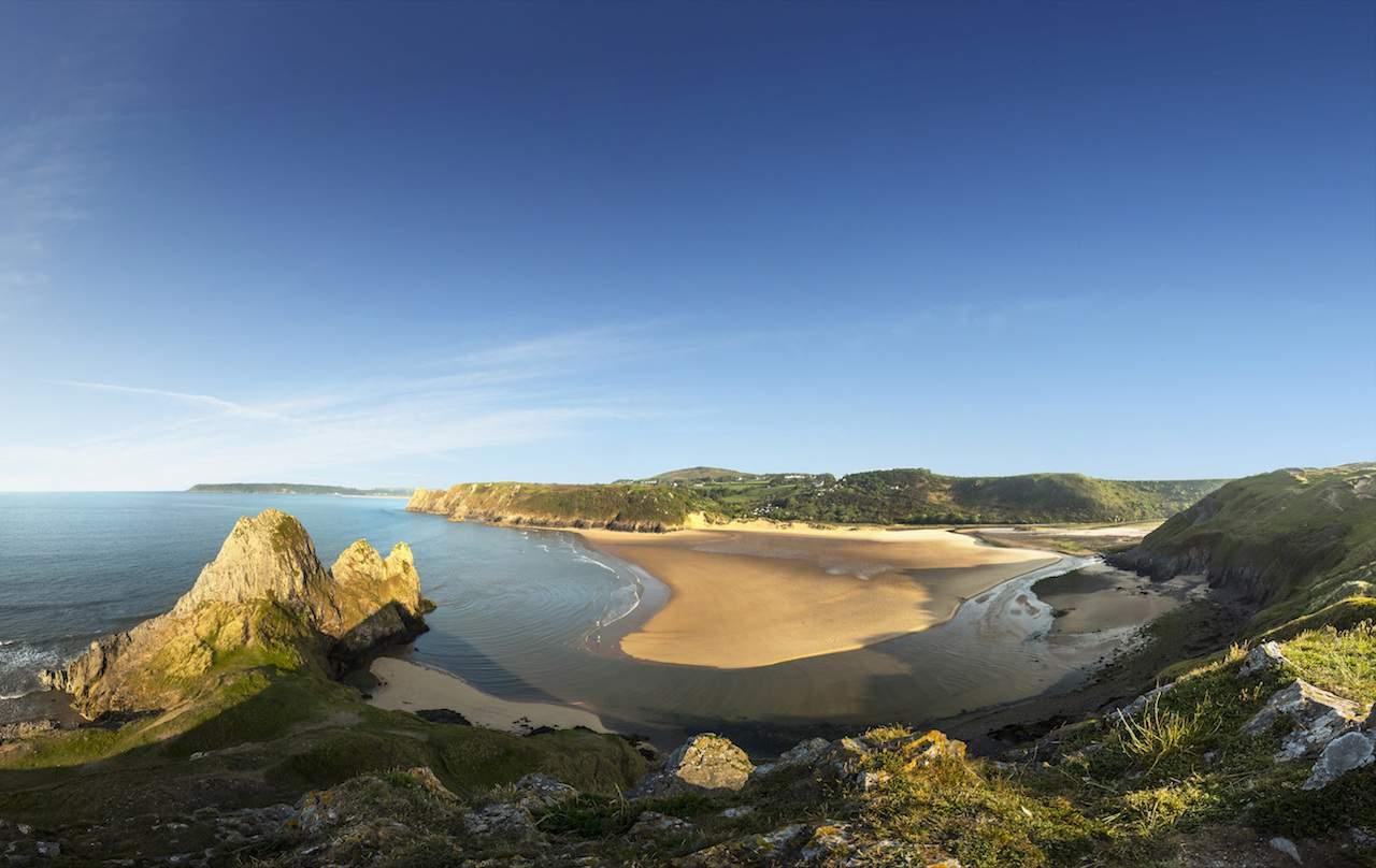 Oxwich Bay, Gower Peninsula, South Wales