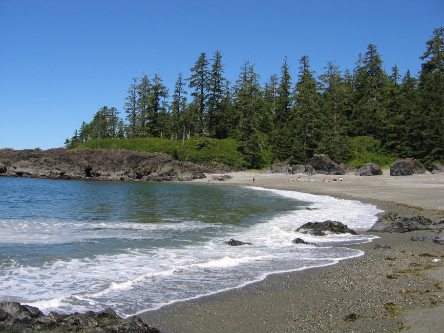Long Beach Area of Pacific Rim National Park on Vancouver Island, Canada