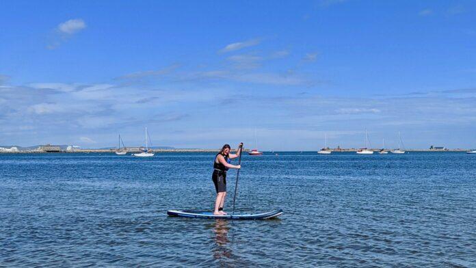 Paddle Boarding Castle Cove
