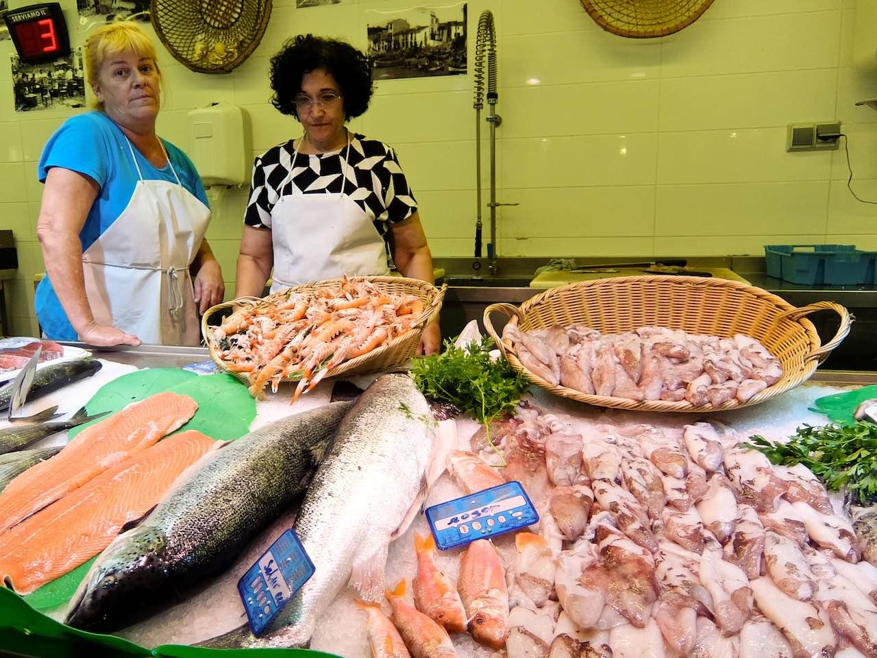 Palafrugell Fish market