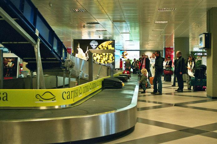 Airport carousel