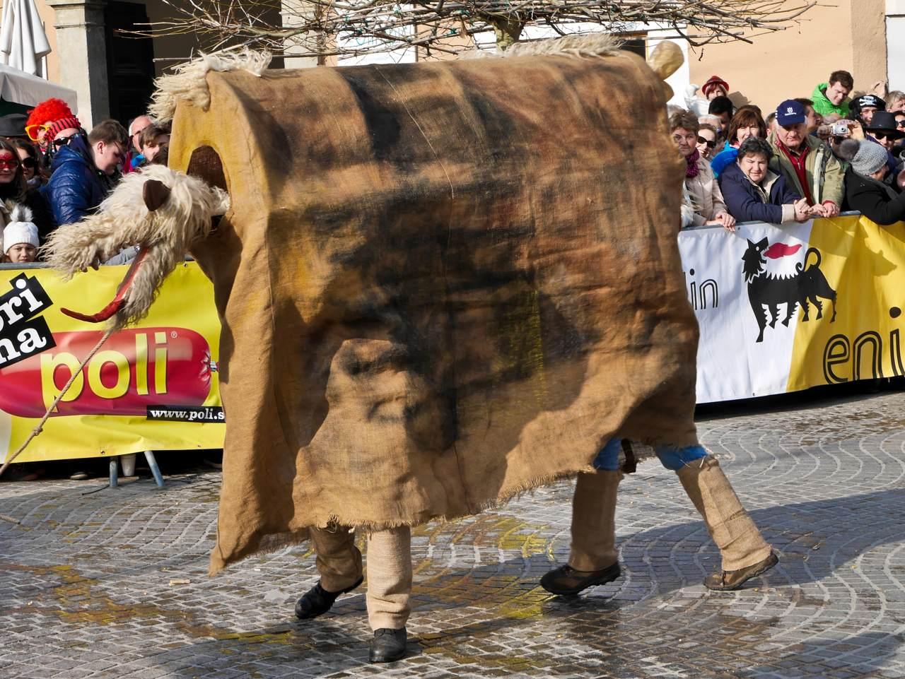 Kurentovanje - Pantomine Horse