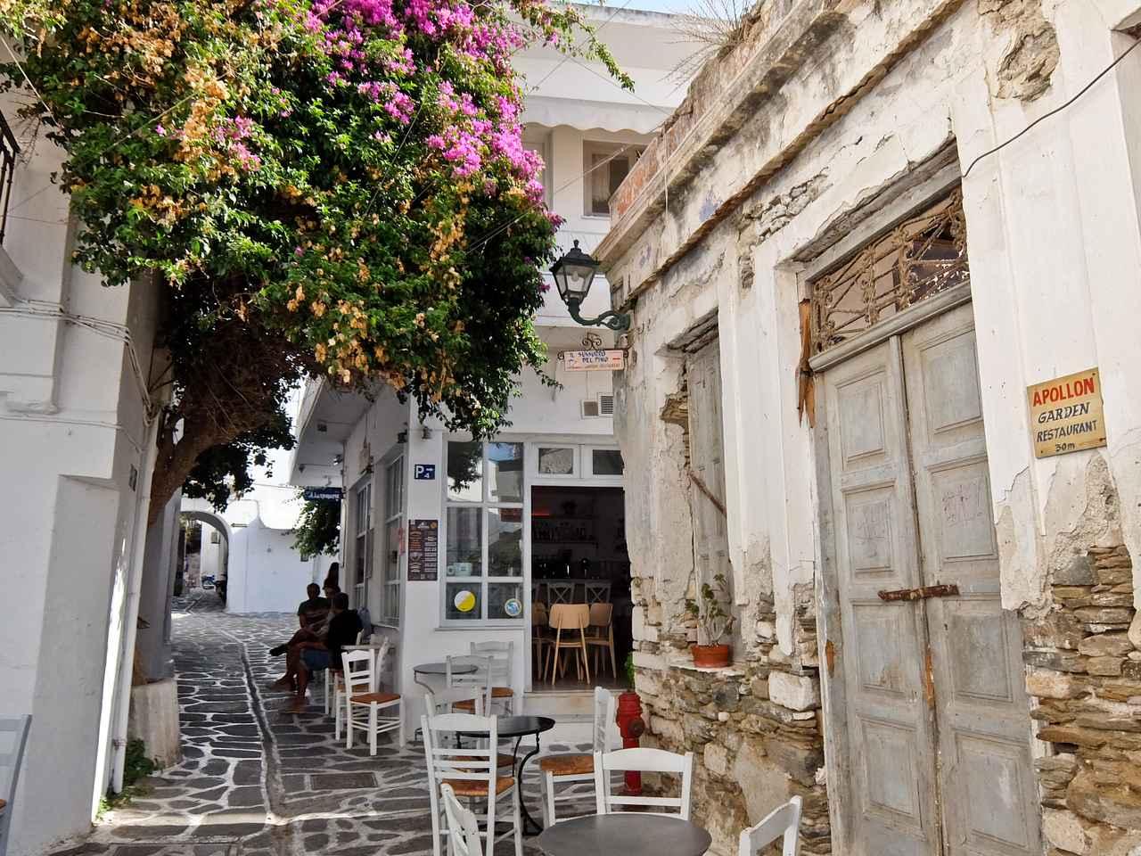 Parikia back street, Paros