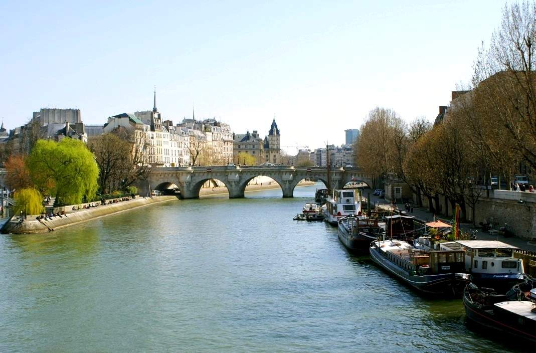 The Seine in Paris