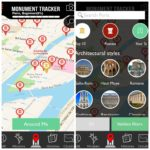 Monument Tracker: map view and filters