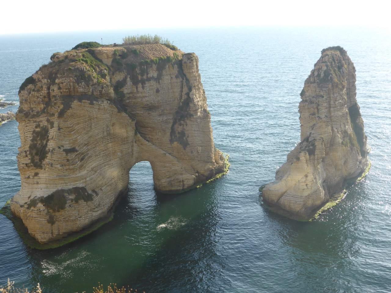 Pigeon Rocks, Beirut