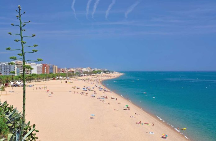 Pineda de Mar, Spain's Costa Brava